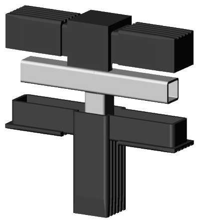 alu stecksystem t st ck f r aluminium rohr aqua light ihr spezialist f r aquariumtechnik. Black Bedroom Furniture Sets. Home Design Ideas