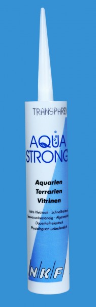 Aquariensilikon, 310ml Kartusche transparent