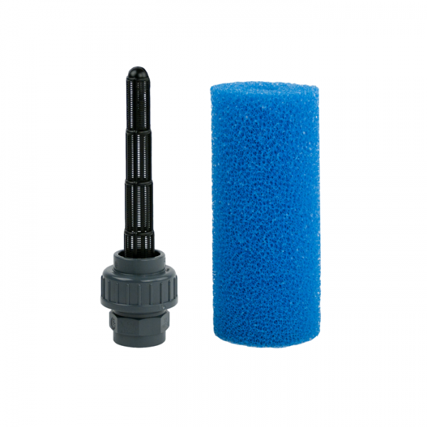 open seam pipe fine with 32mm-transit, with sponge
