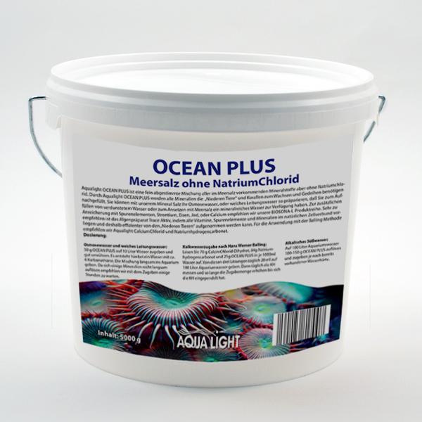 Ocean Plus - Meersalz ohne Natriumchlorid 5 Kg