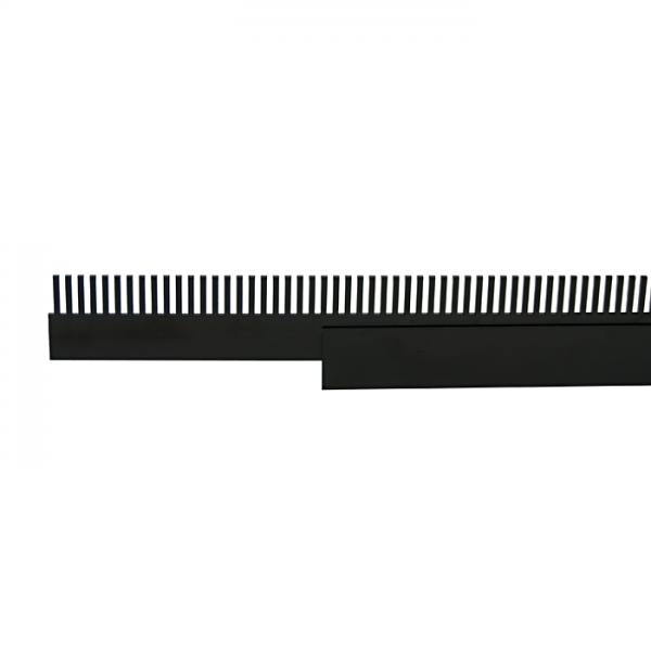 PVC overflow comb + pouch 36cm