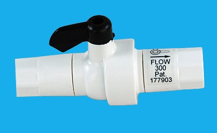 External flowrestrictor for RO-380 l/day