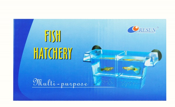 Fisch-Ablaichkasten aus Plexiglas zum Einhängen