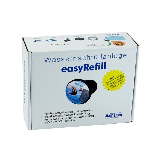 easyRefill - Smart Nachfüllanlage mit einem optischen Sensor