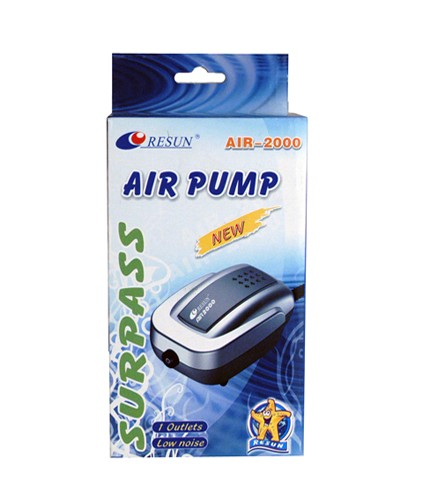 Air pump, AIR2000 - 140l/h - 3Watt