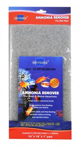 Filtermaterial Ammonia Remover 25.5x45.7x2.5cm