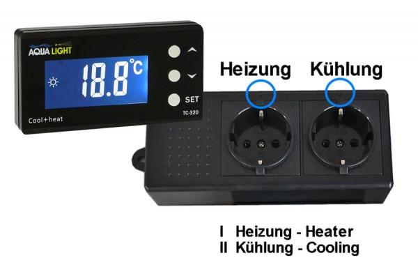 Temperatur Controller TC-320 für Kühlung und Heizung