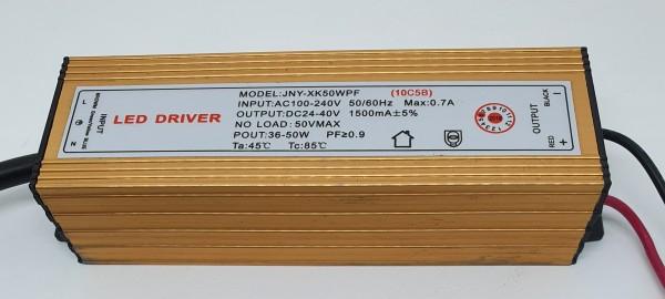 LED Driver DC24-40V / 1500mA / for 50Watt