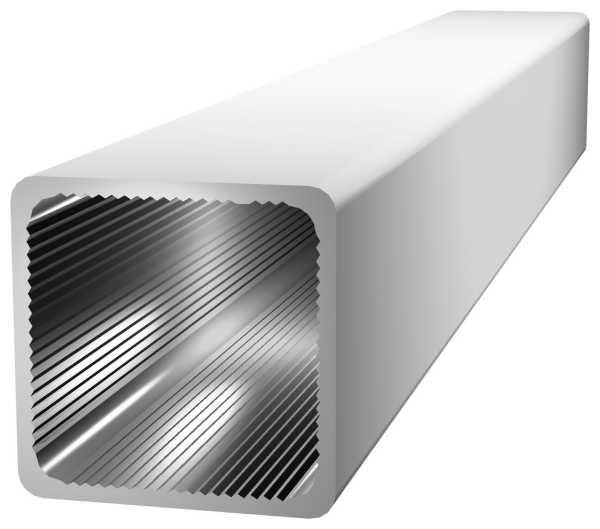 Alu-Stecksystem - Rohr/m 25x25mm