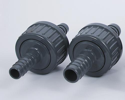 PVC-Rückschlagventil mit Gummimenbran