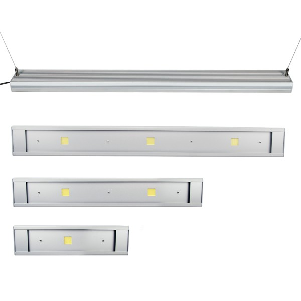 Aquarium LED Bar - Star MARINE 12.000K, Silber eloxiert
