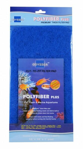Filtermaterial PolyFiber Plus (blue) 25.5x45.7x2.5cm