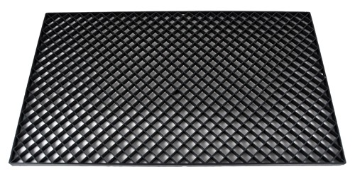 Filter gril, plastic black - 680x400x12mm