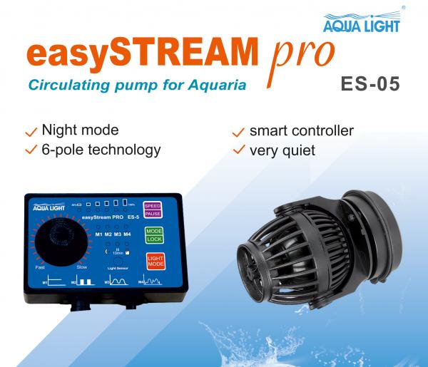 EasyStream PRO - Wavemaker - ES-05, sehr leise - 10W / 4.000l/h