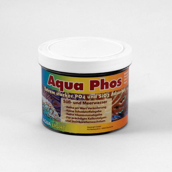 Aqua PHOS, Phosphatbinder Granulat fein 0,5 - 2mm, 500ml