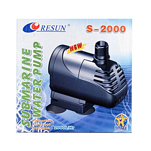 Submarine water pump S-2000l/h - 2,0m - 30Watt
