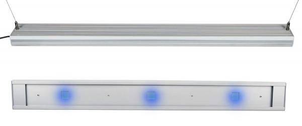 Star LED BLAU, 450 - 470nm, Silber eloxiert dimmbar
