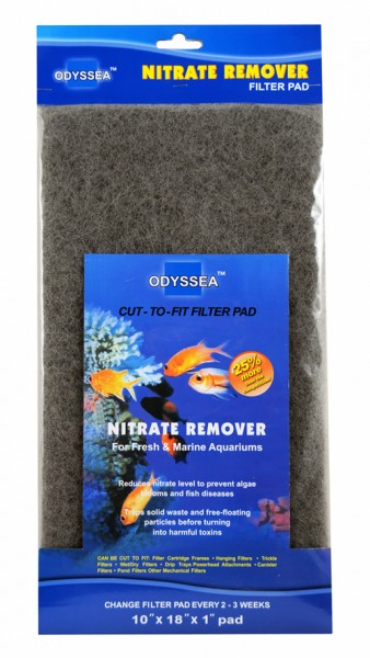Filtermaterial Nitrate Remover 25.5x45.7x2.5cm