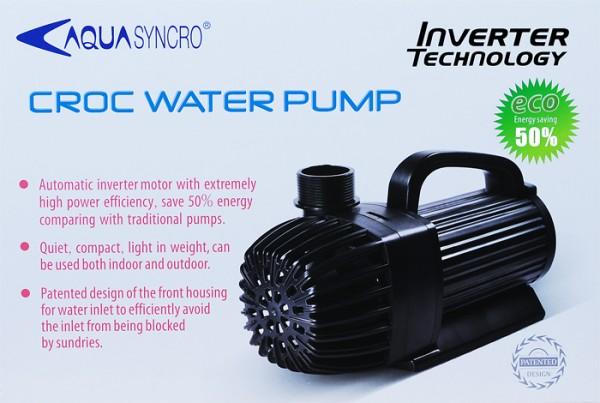 CROC Wasserpumpe 4.000 l/h, hmax = 3,0m - 38 Watt
