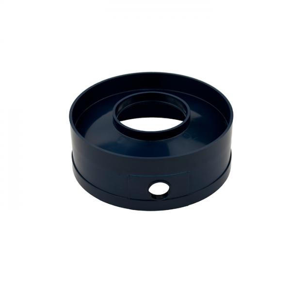 Ober-Teil für EA/Filter Rohr Ø 200mm - Loch 90mm - 1x25mm Bohrung