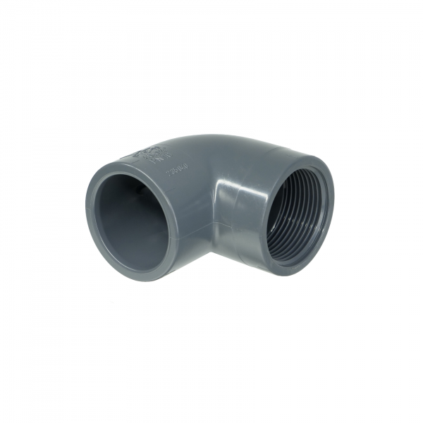PVC angle 90° Inner thread Ø 40 mm - 1.1/4""