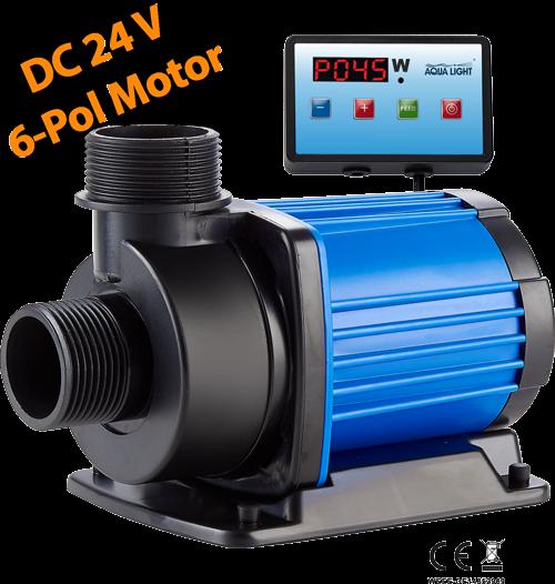 easyPumpe 24V-DC SixPole EP-8.000l/h mit Digitalsteuerung