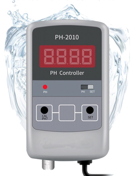 pH meter and Controller, PH-2010 with electrode
