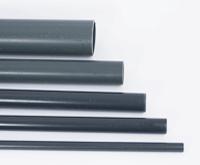PVC pipe - grey, per meter