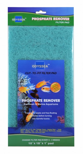 Filtermaterial Phosphate Remover 25.5x45.7x2.5cm