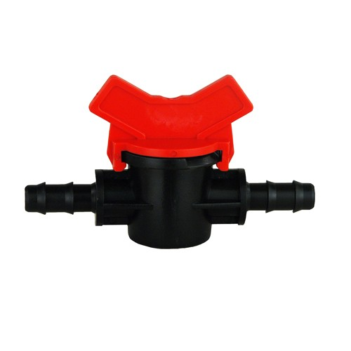 Ball valve with hose connector