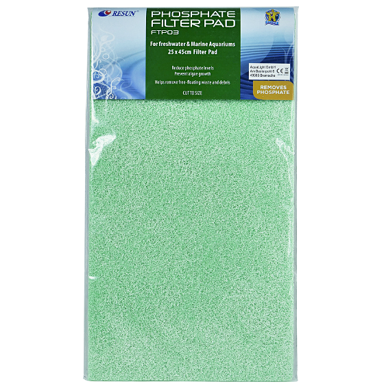 Filter media Phosphate Remover 25.5x45.7x2.5cm